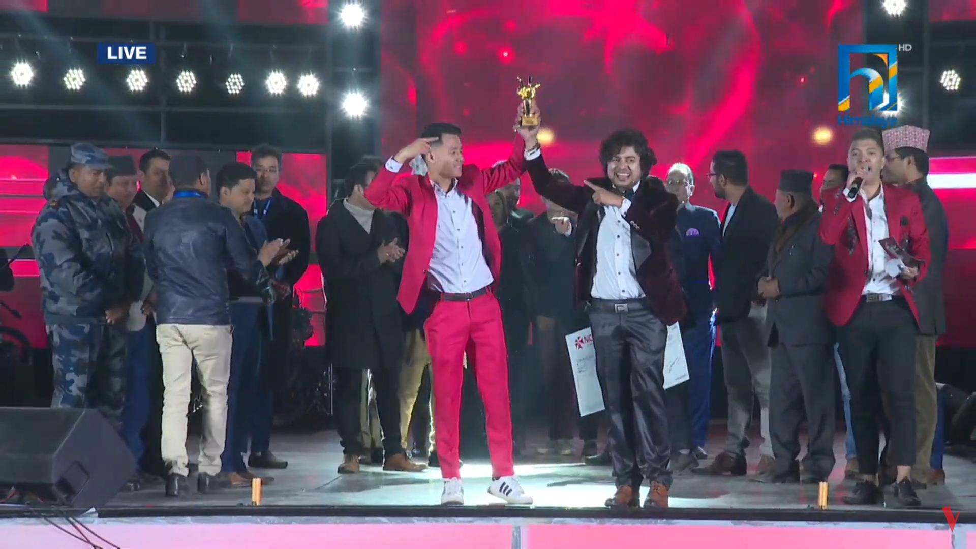 'दि भ्वाईस अफ नेपाल सिजन–२' को विजेत राम लिम्बु (फोटो फिचर)