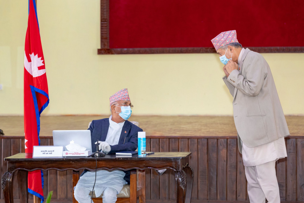 मन्त्री युवराज खतिवडाले पदबाट राजीनामा