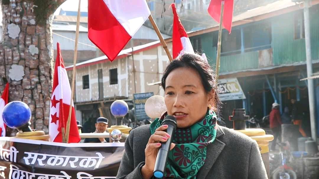 `जब जनताको अधीकार खोसिन्छ नेपाली कांग्रेसको नेतृत्व आवश्यक पर्छ' –सिता गुरुङ