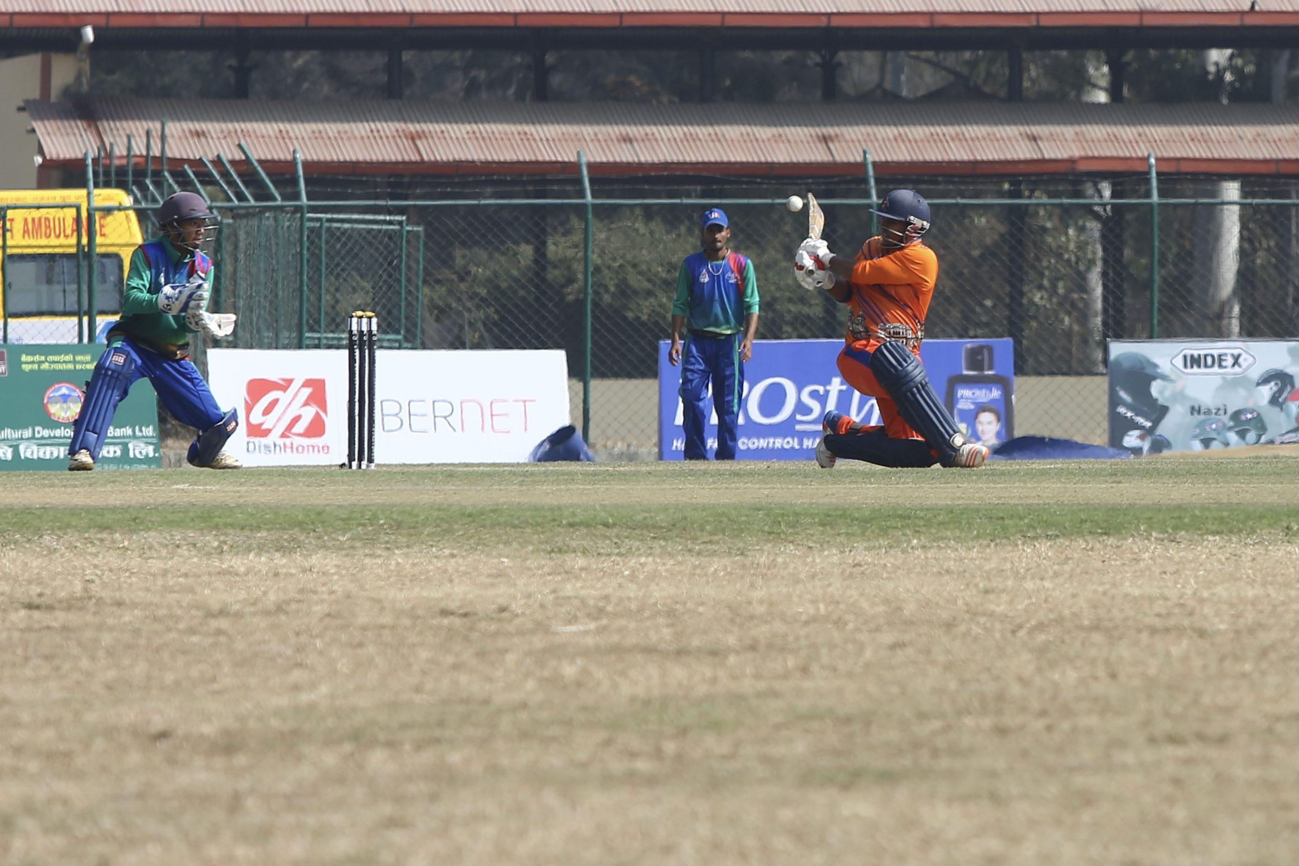 प्रधानमन्त्री कप क्रिकेटमा दुई खेल हुँदै