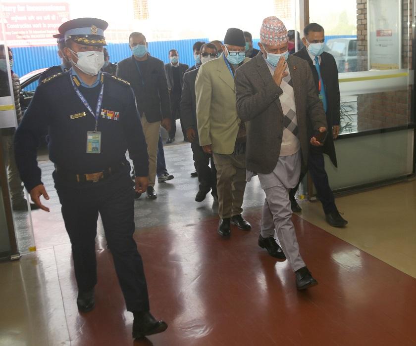 परराष्ट्रमन्त्री ज्ञवाली भारत प्रस्थान