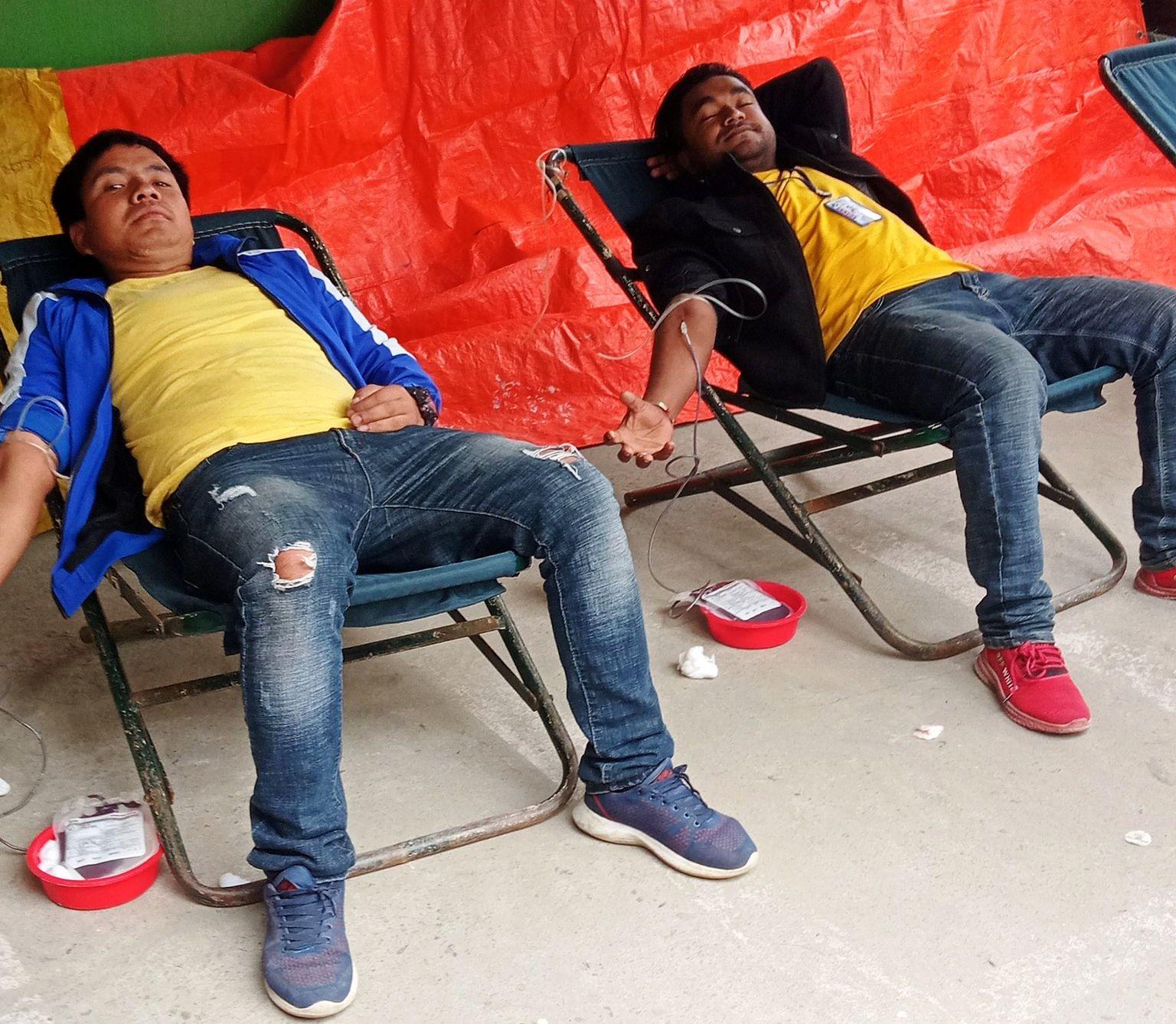 मनकामना सहकारीको रक्तदान कार्यक्रम सम्पन्न, ४३ पिन्ट रगत संकलन