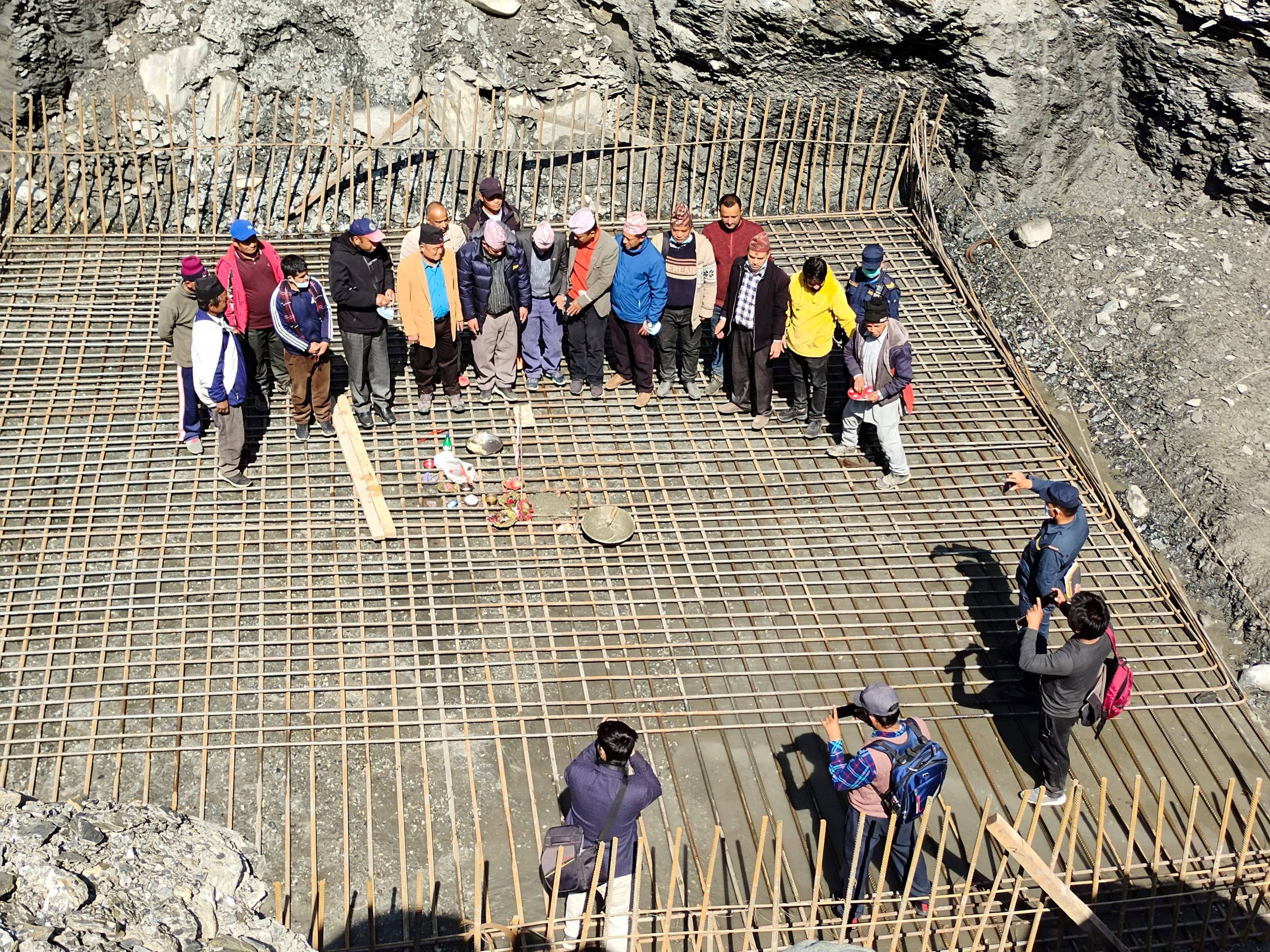 घारखोलामा मोटर चल्ने पुल निर्माण शुरु