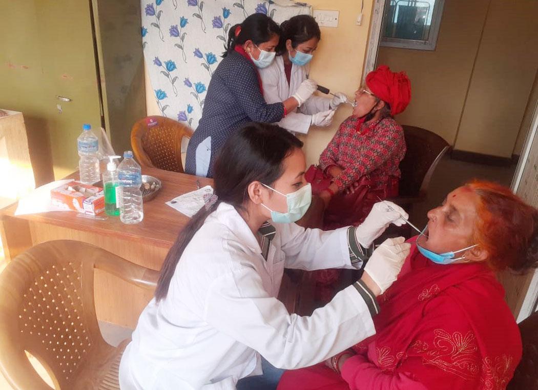 नुवाकोटका तीन स्थानमा केएमसीको निःशुल्क स्वास्थ्य शिविर, आठ हजार बिरामी लाभान्वित