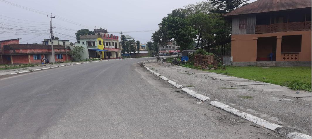 रंगेली नगरपालिका बजार क्षेत्रका ४ वटा वडा पुर्ण सिल