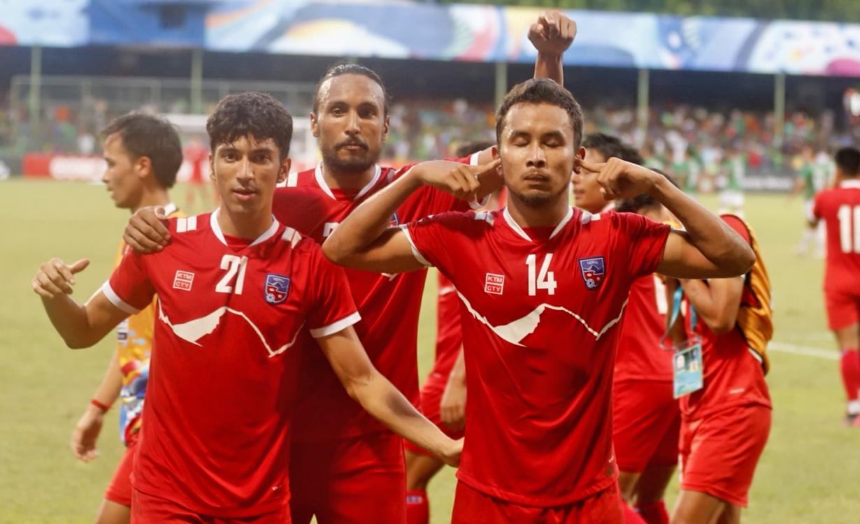 नेपाल पहिलोपटक साफ च्याम्पियनसिपको फाइनलमा